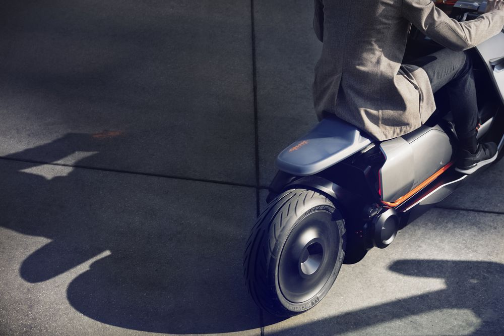 Bmw S New Concept Motorcycle Looks Like It Belongs In Blade Runner