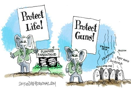 Image result for cartoons on republicans on gun control