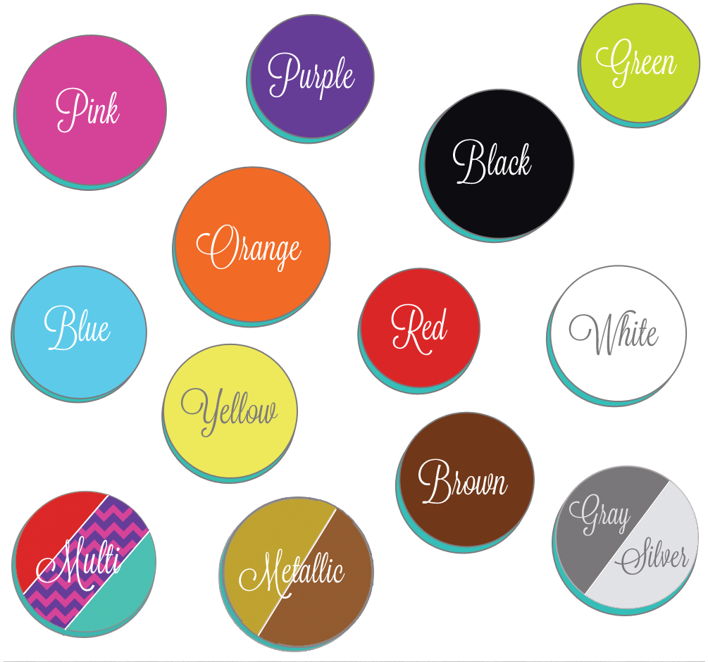 Colorful Office Supplies, Shop By Your Favorite Color   UrbanGirl