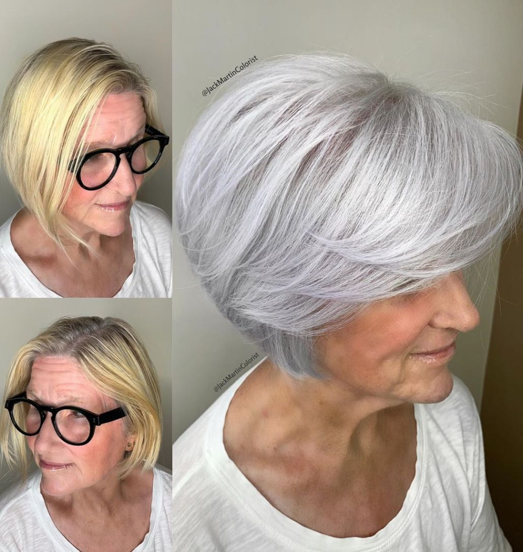 What Are The Best Bob Haircuts For Older Women Hair Adviser Haircut For Older Women Hairstyles For Thin Hair Bobs For Thin Hair
