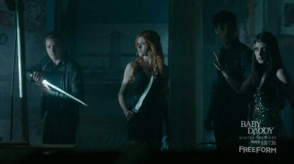Clary and Jace and alec and Izzy