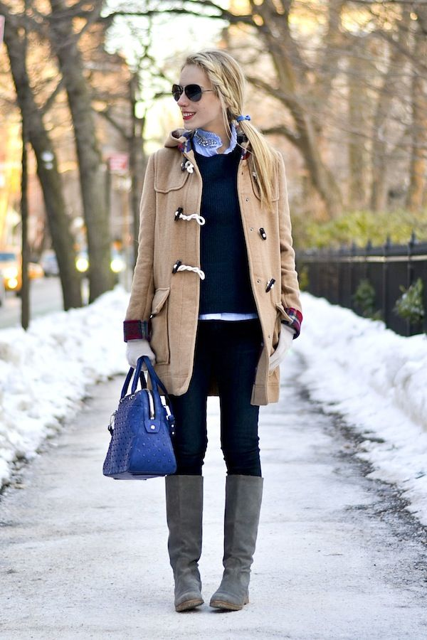 How To Wear Duffle Coat