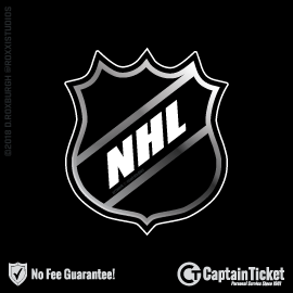 b38c5f185 Buy NHL Tickets Cheap At Captain Ticket™ - The Original No Fee Ticket Site
