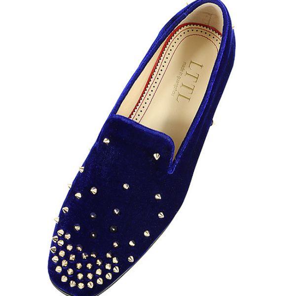 Designer Mocassin Fashion Royal Blue