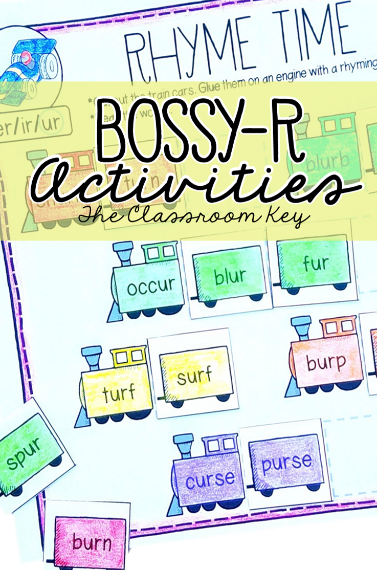 small resolution of Bossy R Activities ($) worksheets