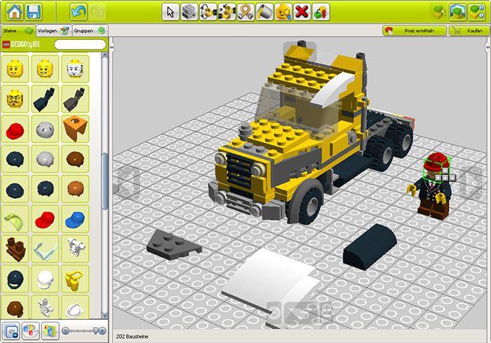 Lego Digital Designer Tutorial 4 Baugruppen Youtube 13