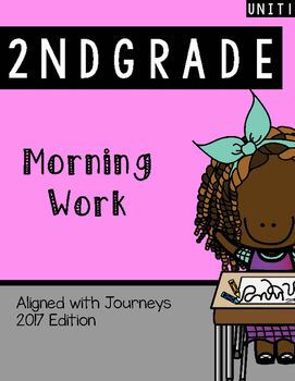 Unit 1: 2nd Grade Morning work, Homework, daily practice