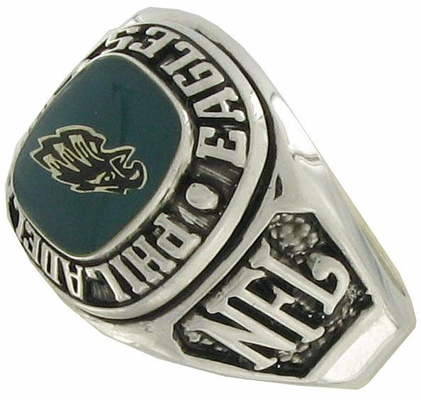 Balfour Ring Boxed Football Nfl Philadelphia Eagles Sz 13