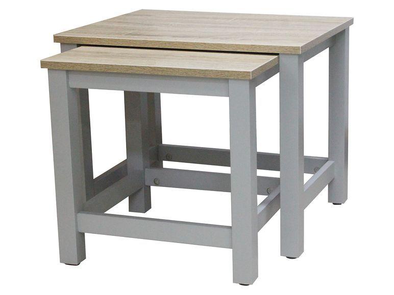 Livarno Living 2 Beistelltische 1 Beistelltische Tisch