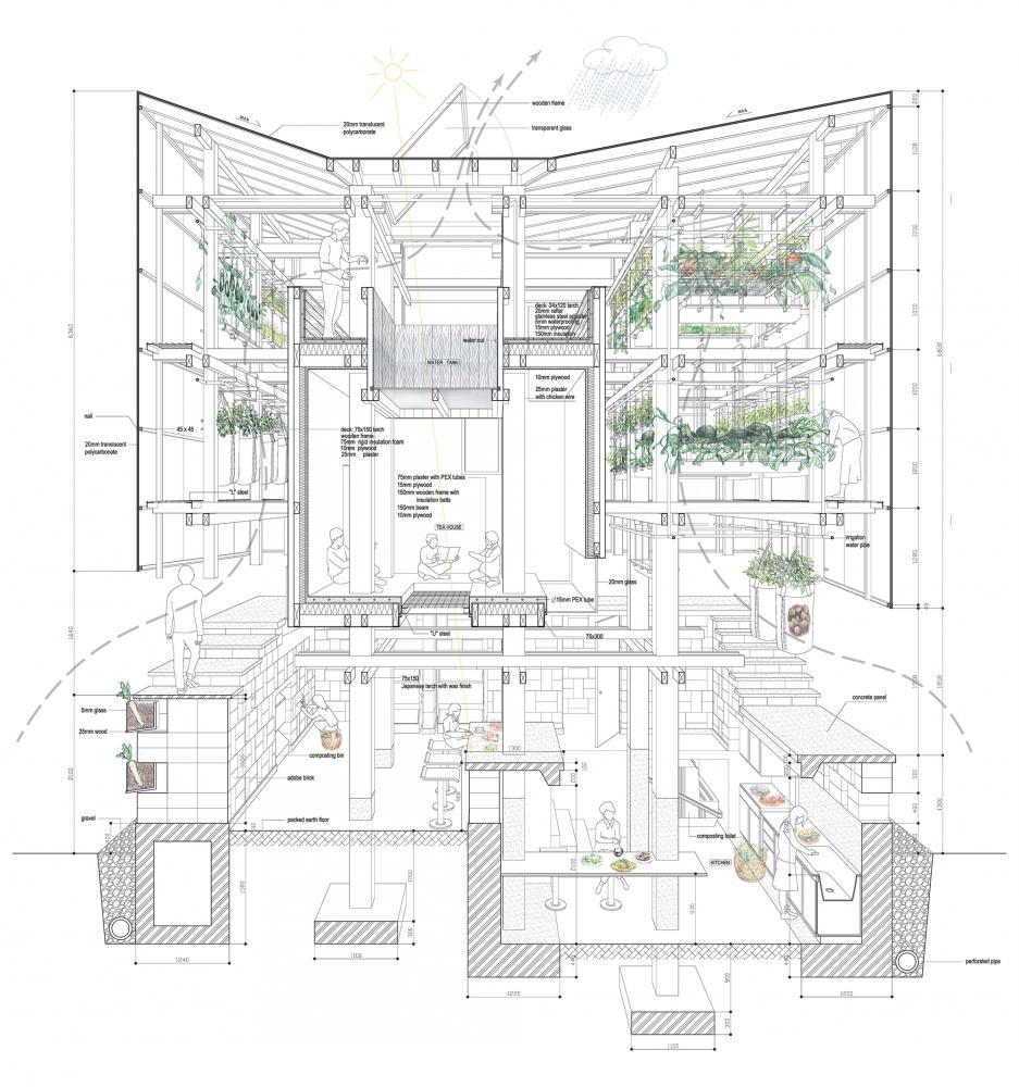 Gallery Of Nest We Grow Kengo Kuma Associates College Of