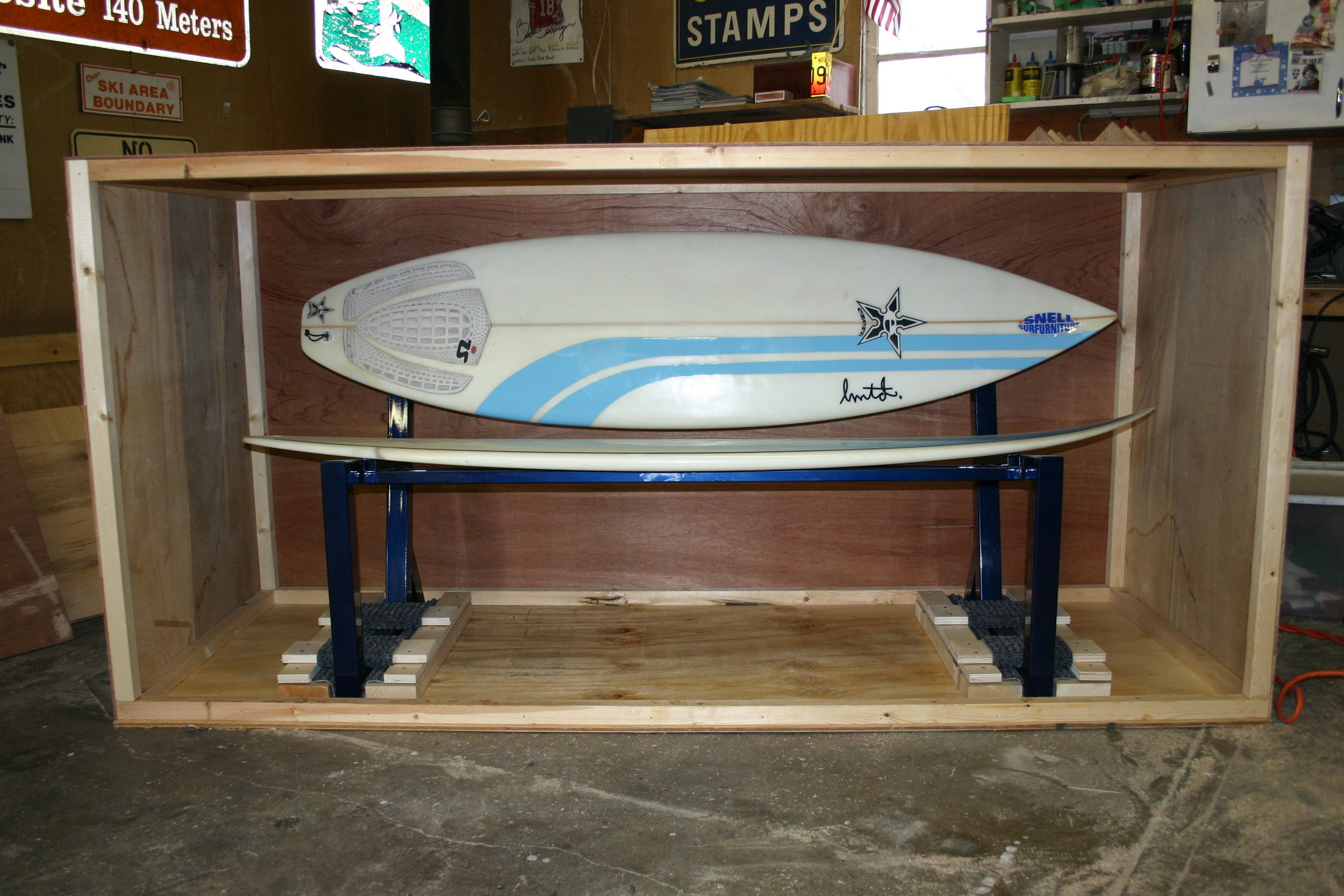 surfboard furniture. Surfboard Furniture. A Park Bench Made From Two Surfboards Is All Crated Up And Ready Furniture F