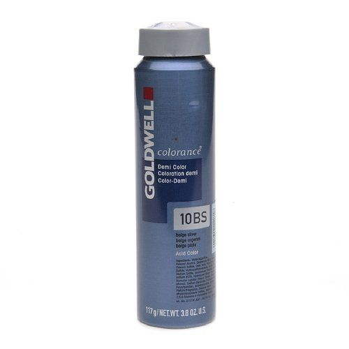 Goldwell Colorance Demi Hair Color, Beige Silver 10BS 3.8 oz * You can get additional details at the image link.