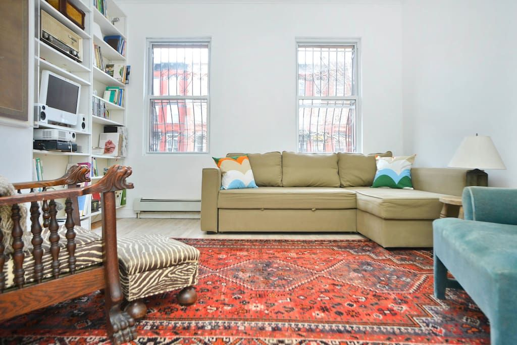 Check Out This Awesome Listing On Airbnb: Brooklyn Life, Easy To Manhattan    Apartments