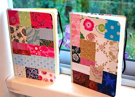 Cuadernos Decorados Con Papel De Colores Buscar Con Google