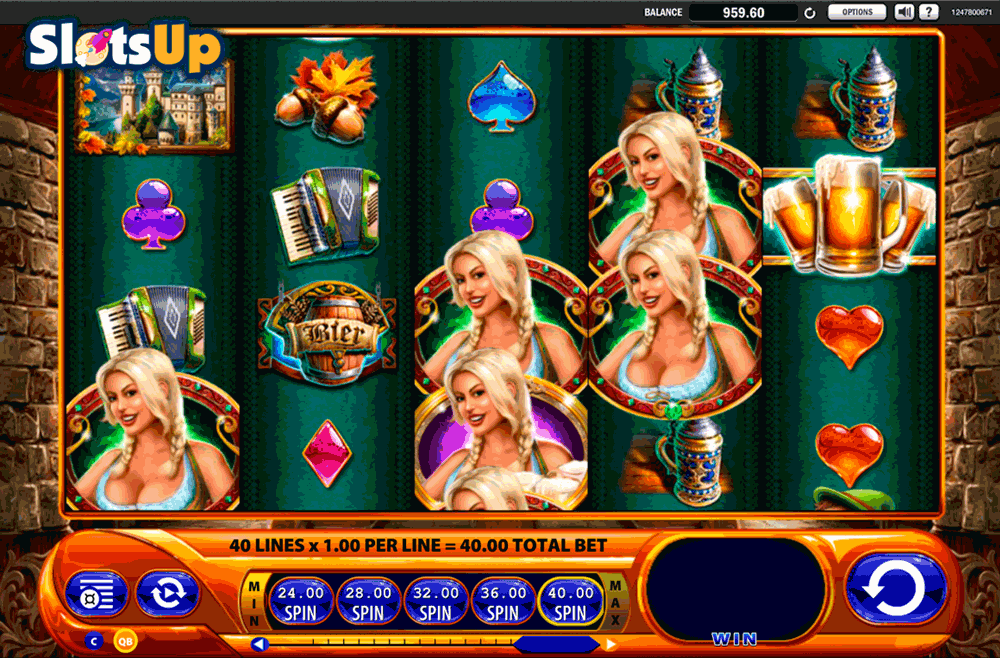Bier Haus Slot By Wms Play Free At Slotsup With Images