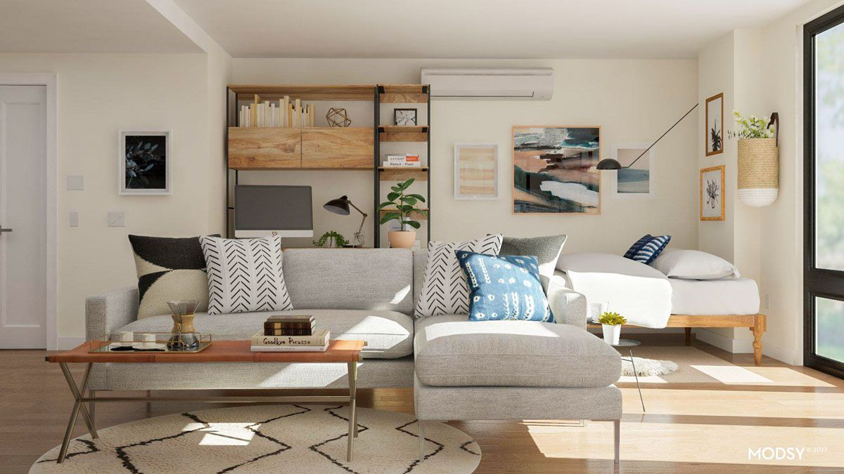 Best Studio Apartment Layout Ideas 2 Ways To Arrange A Square