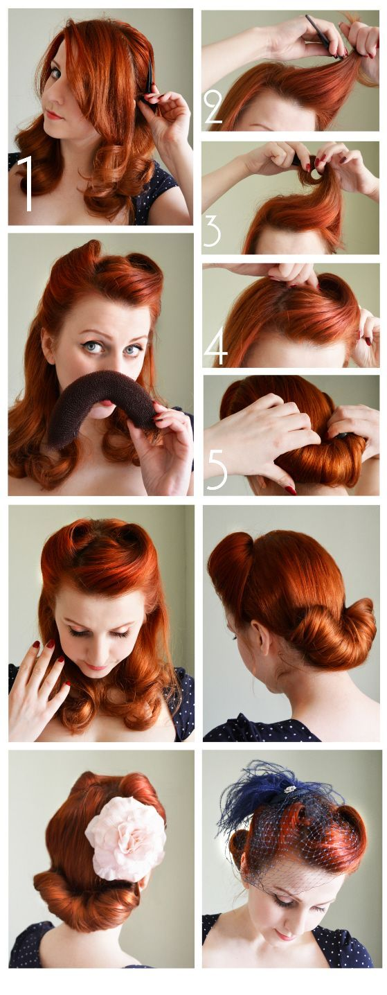 easy u cute hairstyles for summers victory rolls s and