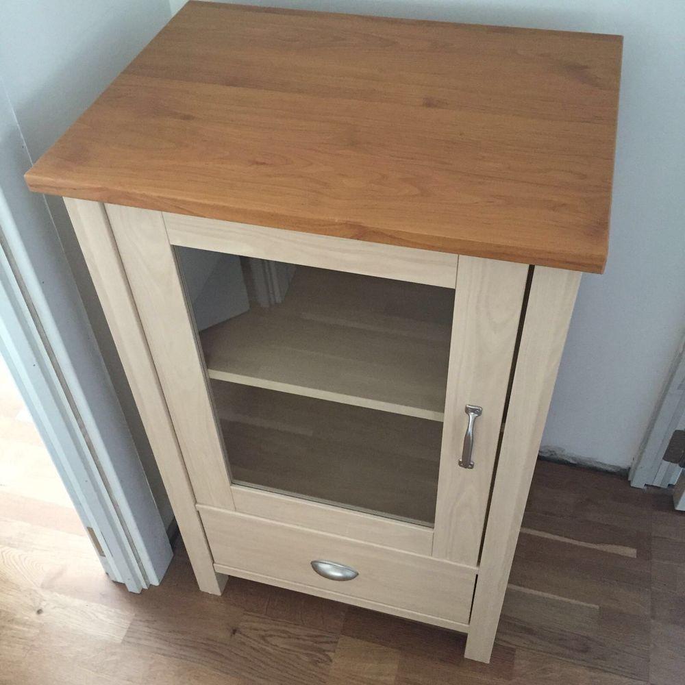 glass door cabinet display storage one door one draw good condition rh pinterest ie