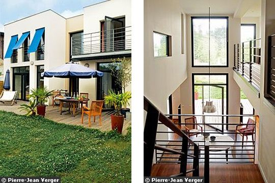 Une Baie Vitree Pivotante Pour Maison Moderne Photo Dr Les Baies ...