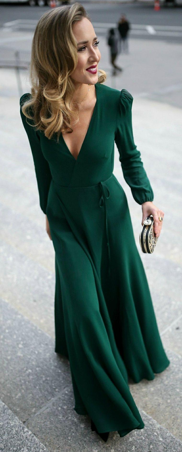 Vestiti Verdi Eleganti.1001 Idee Per Abiti Da Cerimonia Lunghi Ed Eleganti Abiti