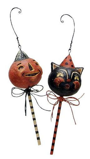 The Vintage Halloween Store: Halloween Ornaments | Vintage Halloween ...