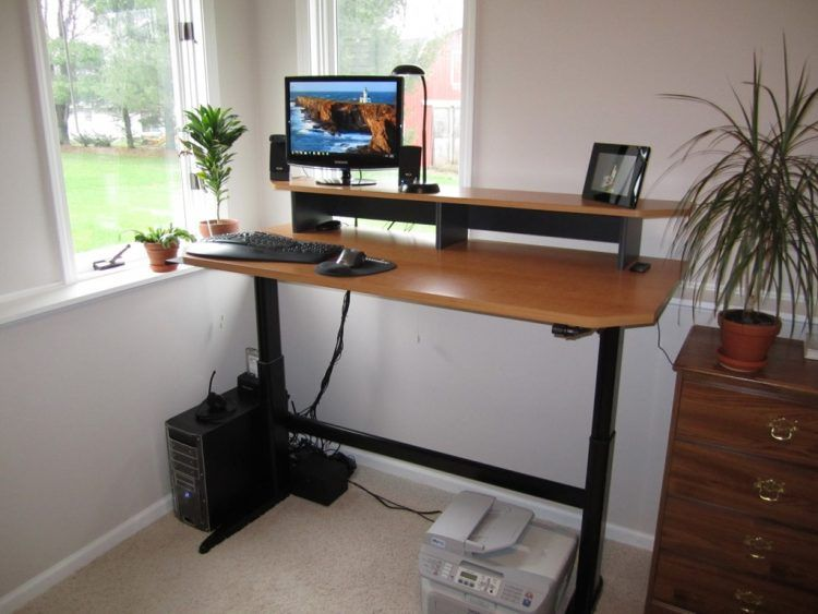 27 Diy Computer Desk Ideas You Can Build Now In 2019 Adjustable