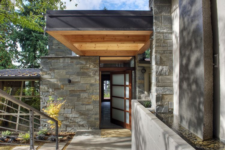 Exterior by March MacDonald Architecture, Outdoor decor