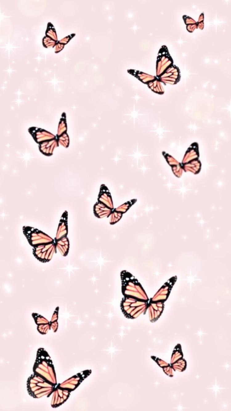 🌸butterfly wallpaper🌸 in 2020   Cute patterns wallpaper ...
