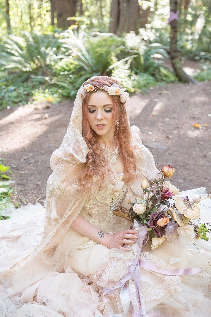 Bask in the magic of this ritualistic woodland fae wedding (with a ...
