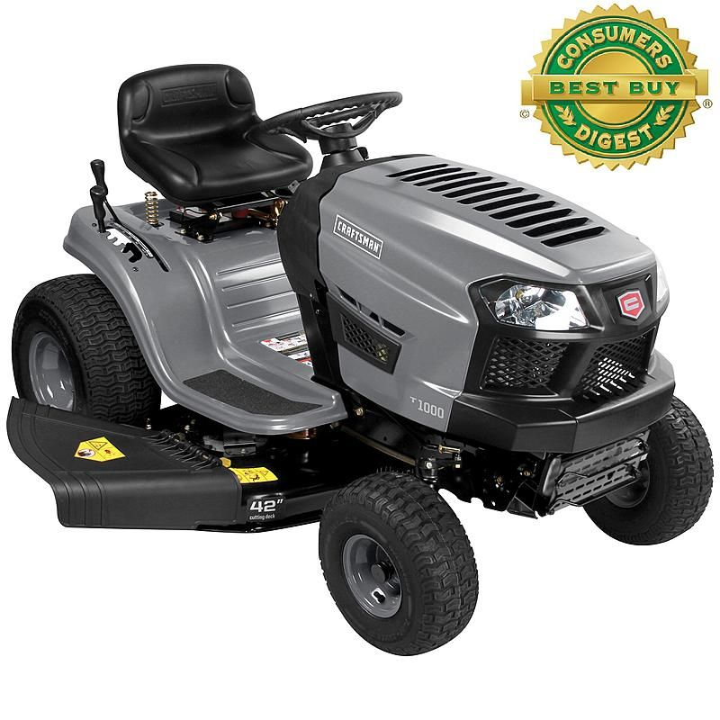 Sears Outlets 1049 Craftsman 20370 42 7 Speed 420cc Riding