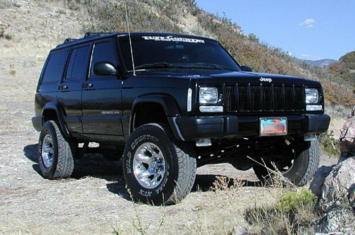 1987-2001 Jeep Cherokee 4x4 - Tuff Country 3.5