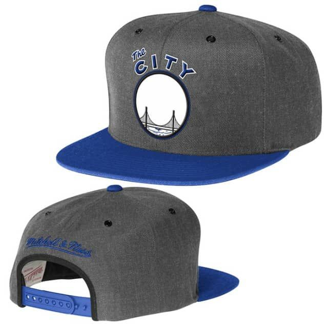 06333056c10abd ... coupon for golden state warriors mitchell ness the city slate 2 tone snapback  golden state warriors