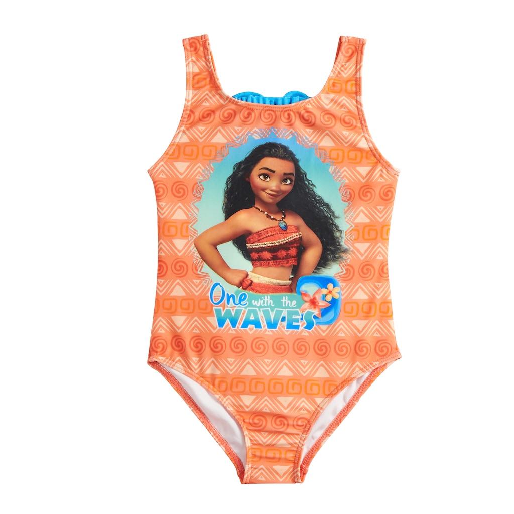 92bff36d8964a Disney's Moana Girls 4-6x One-Piece Swimsuit, Girl's, Orange   Products