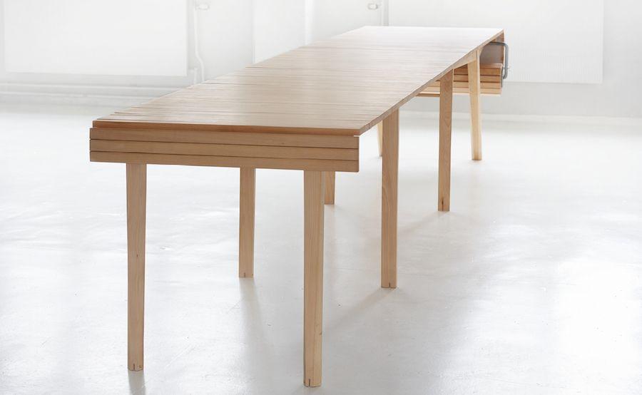 Smart Retractable Table Fubiz Media Table Design Diy Table