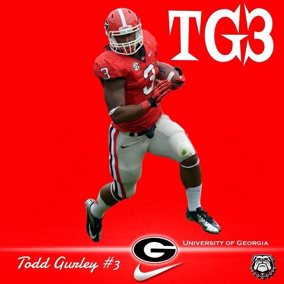 Todd Gurley S Superman 3 Georgia Football Georgia Bulldogs Georgia Dawgs