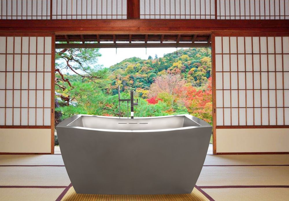 Japanese Soaking Tubs Baths Outdoor Soaking Tub With Images
