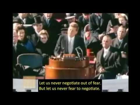 1961, January 20 – John F. Kennedy – Inaugural Address – open captioned – The Closed Captioning Project LLC, sponsored by Accurate Secretarial LLC
