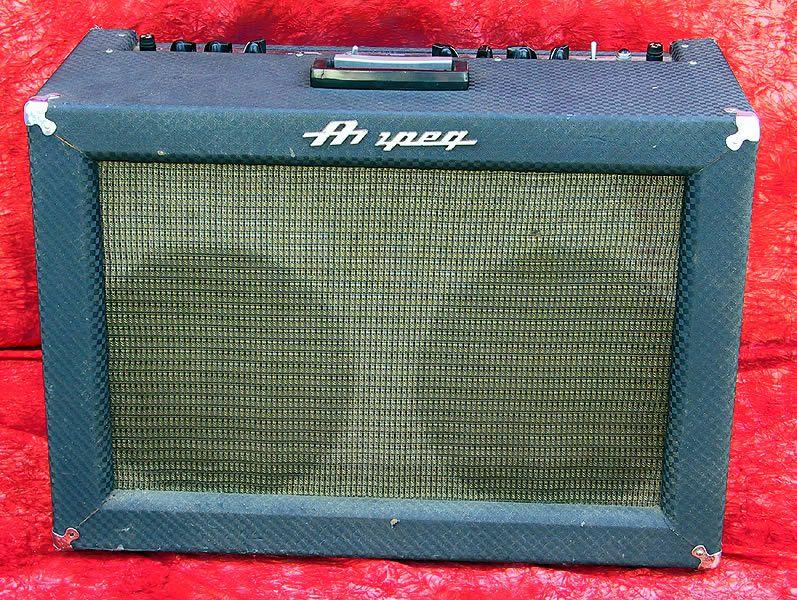 """Ampeg 1965 Super Echo Twin, Model ET2B 50 Watts 2x12"""" Jensen"""
