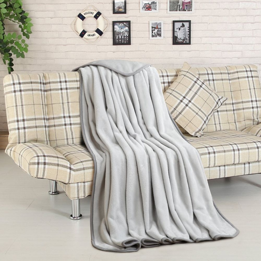 Throw Blankets For Couches Super Soft Fleece Throw Blanket Warm Extra Silky Lightweight Bed