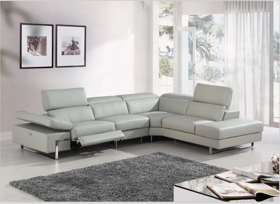 Electric chairs and sofas modern leather recliner sofa with Top