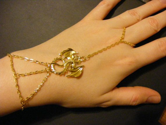 Dragon Bracelet dragon jewelry gold dragon bracelet gold dragon