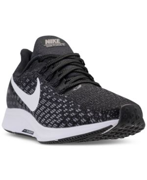 los angeles 8ab87 107fc Nike Women s Air Zoom Pegasus 35 Running Sneakers from Finish Line - Black  6.5