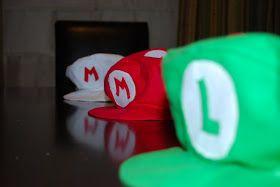 craftyc0rn3r: Super Mario Caps