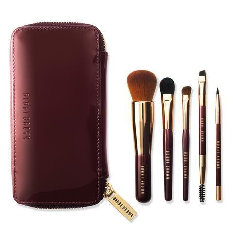 travel brush set  makeup brush kit bobbi brown brushes