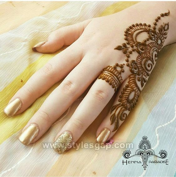 Beautiful Easy Finger Mehndi Designs 2018 2019 Styles Henna