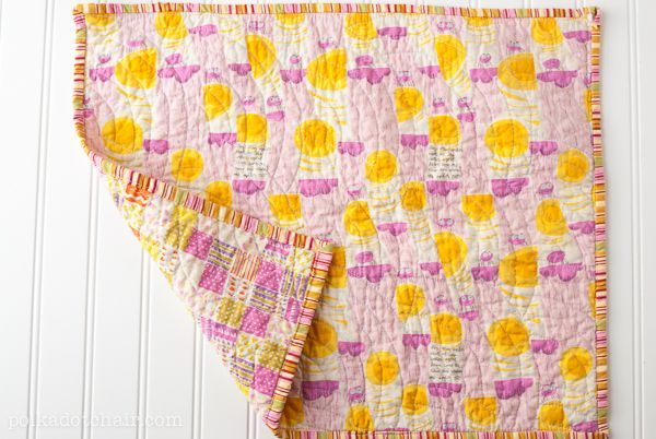 How-To: Fat Quarter Doll Quilt