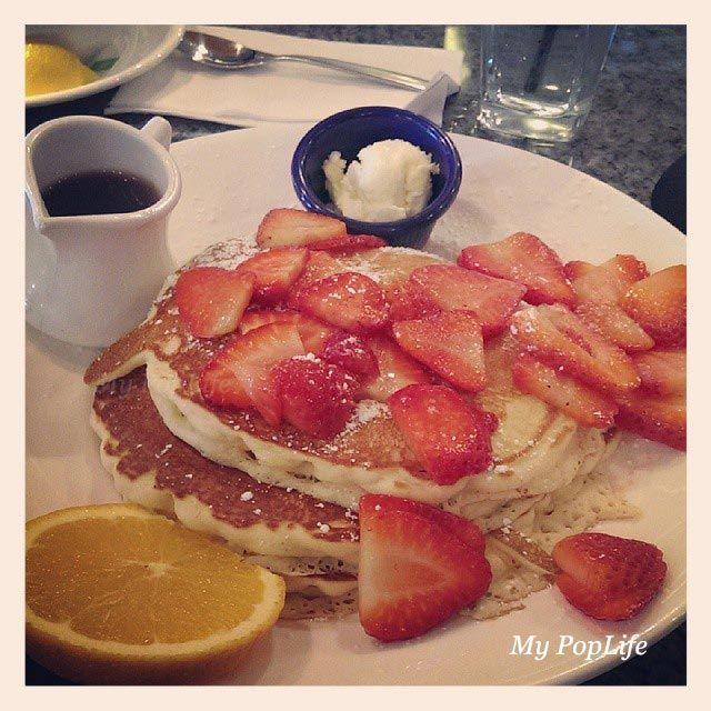 Pancakes - brunch à Yolk de Chicago