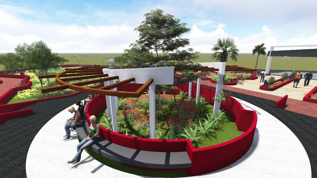 Pin De Luz Angela Ramirez Rico En Proyectos Urbanismo Parque De Bolsillo Mobiliario Urbano Disenos De Unas