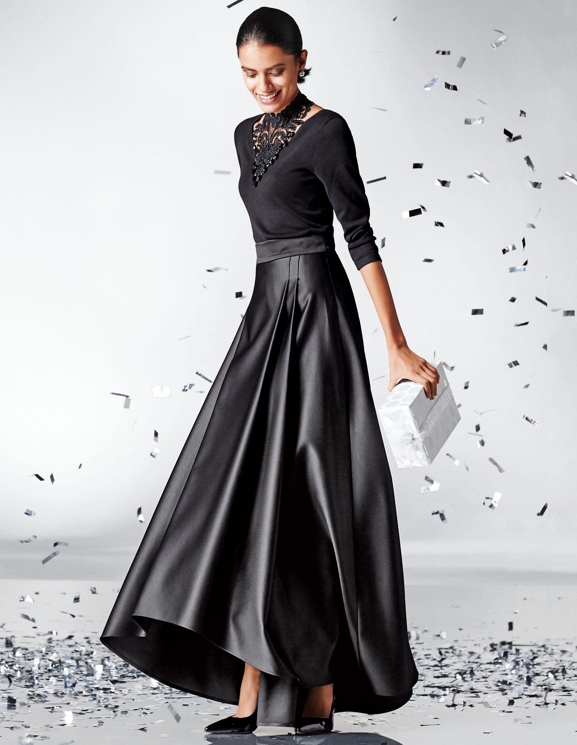 Pin von Mona Schubert auf Skirts | Kleid mit stehkragen ...