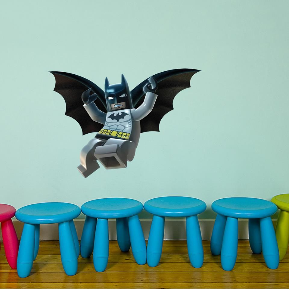 Lego Superhero Wall Decals Part 75